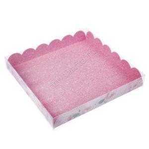 """Коробочка для шоколада """"Розовая"""" , 21 х 21 х 3 см"""