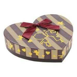 Коробка подарочная сердце, 20 х 20 х 4 см