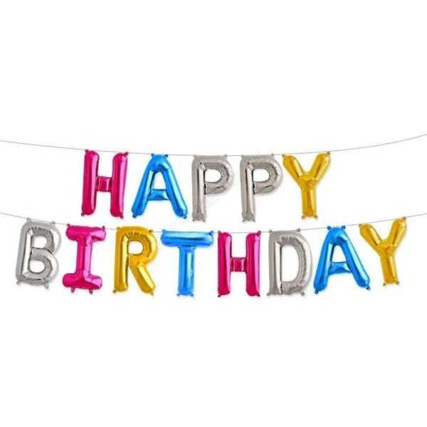 """Надпись """"Happy Birthday"""", Ассорти"""