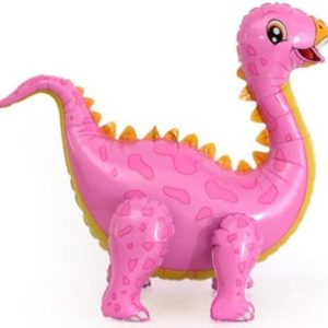 Динозавр Стегозавр, розовый 99см