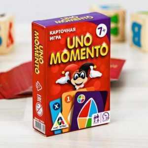 """Карточная игра """"UNO momento"""""""