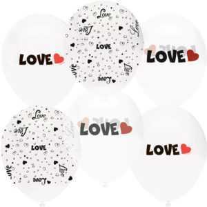 Любовь, Белый и Прозрачный , 30см
