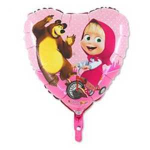 Шар Сердце, Маша и Медведь