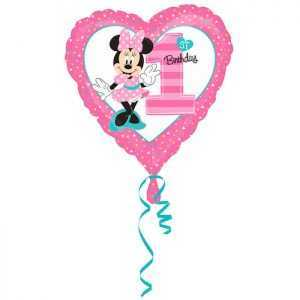 Шар сердце, Минни 1й День рождения